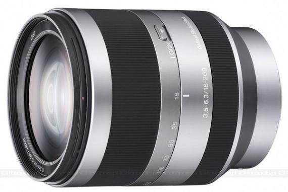 Sony 18-200mm f/3.5-6.3 E